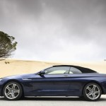 BMW 6 Series Convertible roof down