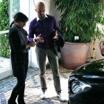 BMW 6 Series exterior designer Nader Faghihzadeh discusses the design of the car with Nargess ©RL Banks