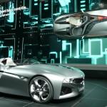 BMW Vision ConnectedDrive concept car at Geneva Motor Show 2011 © Nargess Shahmanesh Banks