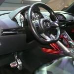 Mazda Minagi concept interior at the Geneva Motor Show 2011 © Nargess Shahmanesh Banks