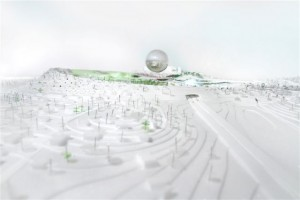 BIG's proposal for a new entrance portal to the city of Stockholm ©BIG