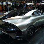 Saab Phoenix concept at Geneva Motor Show 2011