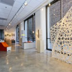 Voronoi Morphologies - C_Wall Installation: Full-scale Mock-up; laser-cut paper Matsys part of Crafting Architecture exhibition