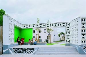 Architecture winner Open Air Library, Magdeburg by Karo Architekten, Germany