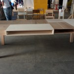 Harry Thaler's Long Table as part of RCA Intent at Milan Salone del Mobile