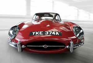 Jaguar E-Type Coupe series one
