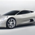 Jaguar XC75 electric concept car