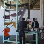 Studio We Do - Bag Machine exhibiting as part of RCA Intent at Milan Salone Del Mobile