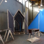 William Shannon exhibiting as part of RCA Intent at Milan Salone Del Mobile
