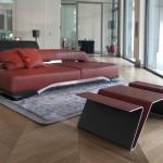 Aston Martin's furniture collection at the Milan fair