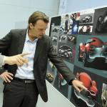 Laurens van den Acker, Renault design director and the DeZir concept