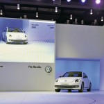 VW Beetle being unveiled at Auto Shanghai 2011