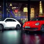 World premier of the 2011 VW Beetle in Shanghai