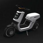 Volkswagen e-Scooter concept at Shanghai Motor Show 2011