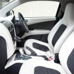 Inside the Aston Martin Cygnet Launch Edition in white