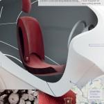 Ido Baruch's Otto for London seat design