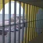 Daniel Buren installation view at Turner Contemporary 2011 - Photo© Margate Rache Calton