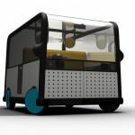 Brooks & Bone's car sharing concept BOX