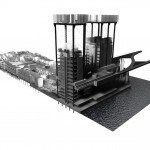 Craig Allen's A Happy Thamesmeadium - Sectional Perspective view through project