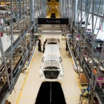 Rolls Royce Goodwood factory assembly line