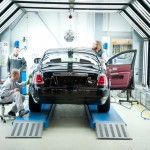 Rolls Royce Goodwood factory final check