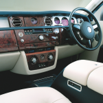 Rolls Royce Phantom dashboard