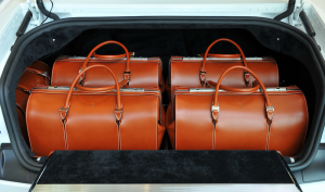 Rolls Royce bespoke luggage