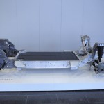 BMW's LifeDrive modular architecture with the flat aluminium Drive section