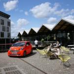 Aston Martin's Cygnet cars at Tom Dixon's at Portobello Dock