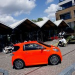 Aston Martin's Cygnet cars at Tom Dixon's at Portobello Dock