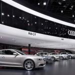 Audi pavilion design at Frankfurt Motor Show 2011