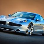 2012 Karma Silver Wind Studio Static Rear ©Fisker Automotive