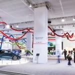 Honda pavilion design at the Frankfurt Motor Show 2011