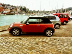 Mini Cooper SD Convertible in Normandy - photo© RL Banks