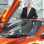 McLaren chairman Ron Dennis and the 12C