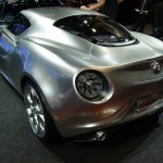 Alfa Romeo 4C concept at Frankfurt 2011