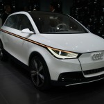 Audi A2 electric concept - Frankfurt 2011