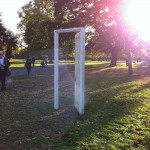 Gavin Turk at Frieze Sculpture Park. Photo© Nargess S Banks