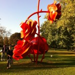 Icon by Will Ryman at Frieze sculpture Park. Photo© Nargess S Banks