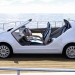 Volkswagen Up Azzurra concept car