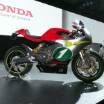 Honda RC-E motorbike at Tokyo Motor Show