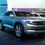 Volkswagen Cross Coupe concept at Tokyo Motor Show