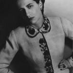 Diana Vreeland in Elsa Schiaparelli, Harper's Bazaar, April 1937, Courtesy of The Metropolitan Museum of Art, Photograph by Louise Dahl-Wolfe, Louise Dahl-Wolfe Archive / © 2012 Center for Creative Photography, Arizona Board of Regents