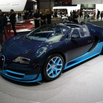 Bugatti Veyron Grand Sport Vitesse at Geneva Motor Show 2012