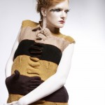 Dress made of gloves 2002 by Frau Blau. photography by Eka Frampol