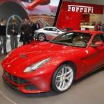 Ferrari F12 Berlinetta at the Geneva Motor Show
