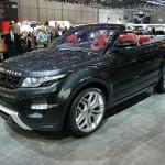 Land Rover Range Rover Evoque Convertible concept at the Geneva Motor Show