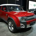Land Rover DC100 Concept car at the Geneva Motor Show
