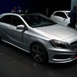 Mercedes-Benz 2012 A-Class at the Geneva Motor Show