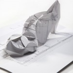 PopUp Lily Shoe 2012 by Coupleof (photography by Dan Lev) in White